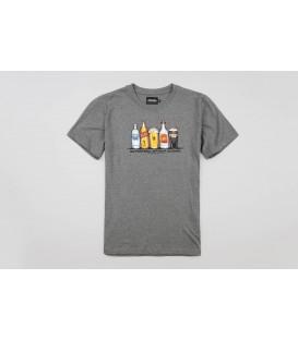 """T-shirt """"Alcofootball"""" Grey - PgWear"""