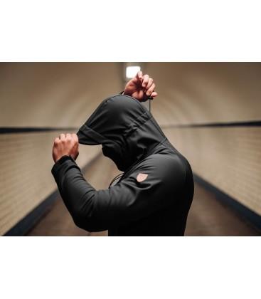 "Full Face Softshell jacket ""Aggressive"" Black - PG WEAR"
