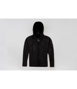 "Full Face Softshell jacket ""Aggressive"" Black - PG WEAR"