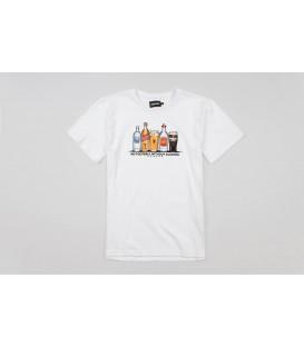 "T-shirt ""Alcofootball"" White - PgWear"