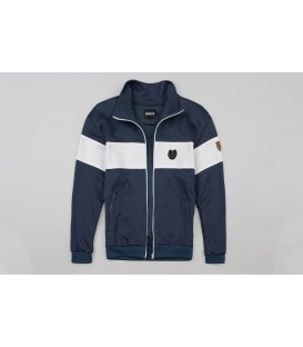 "Retro Jacket ""Vintage"" Navy - PG WEAR"
