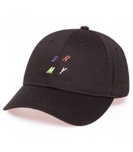 Gorra Grimey Planete Noir curved visor FW19 Black - GRIMEY