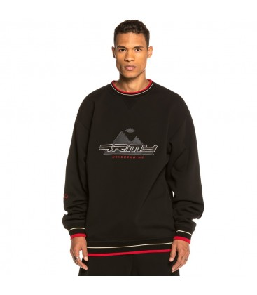 Sudadera Grimey Sighting in Vostok Crewneck FW19 Black - GRIMEY