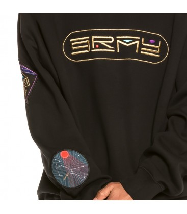 Sudadera Grimey Engineering Crewneck FW19 Black - GRIMEY