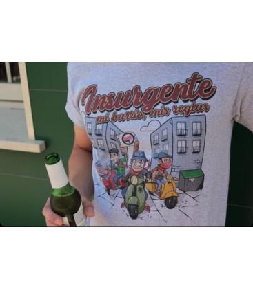 Camiseta Mi Barrio Mis Reglas - Insurgente Wear