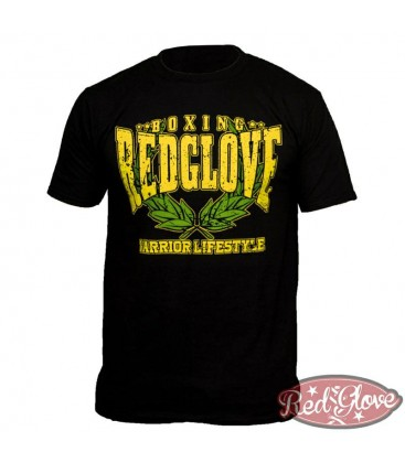 CAMISETA RG WARRIOR AMARILLO/VERDE  - Red Glove