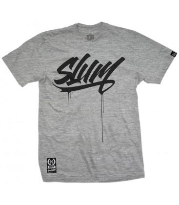 Camiseta Slum Tag Grey – SlumWear