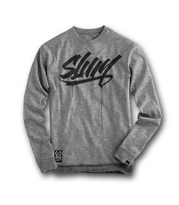 Sudadera Slum Tag Grey – SlumWear