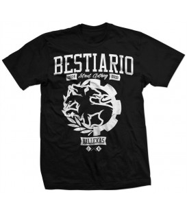 Camiseta Bestiario 5 Aniversario - WE RESIST