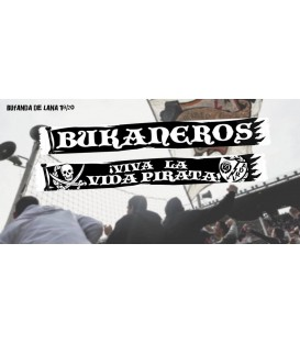 Bufanda La vida pirata - Bukaneros