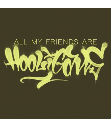 Camiseta All my friends are hooligans - Madriz Warriors