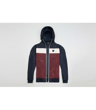 "Full Face Jacket ""Invader"" Navy/Red - PG WEAR"