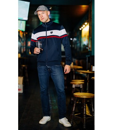 "Retro Jacket ""Vintage`20"" Navy - PG WEAR"