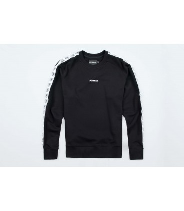 "Sweatshirt ""Classic"" Ribbon Black - PG WEAR"