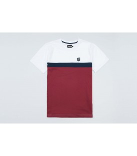 """T-shirt """"Oldschool"""" White/Red - PgWear"""