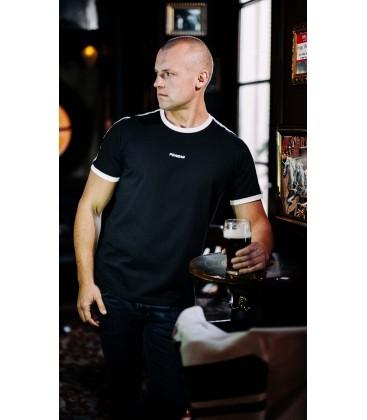 "T-shirt ""Ribbon"" Black - PgWear"