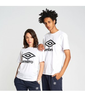 Camisetas White Large Logo - UMBRO