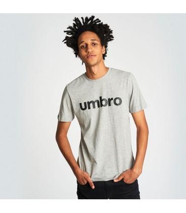 UMBRO LINEAR LOGO GRAPHIC TEE GRIS - UMBRO