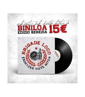 Brigade Loco  Ekintzek Dute Hitza - Vinilo