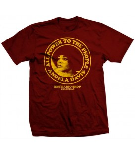Camiseta Angela Davis - WE RESIST