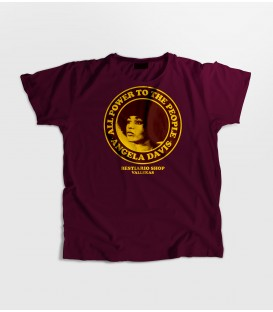Camiseta Chica Angela Davis - WE RESIST