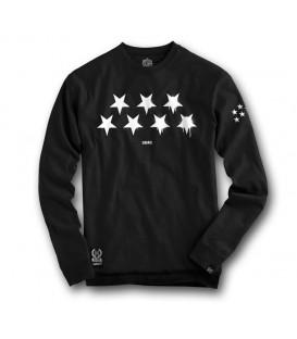 Sudadera Estrellas negra - SLUM WEAR