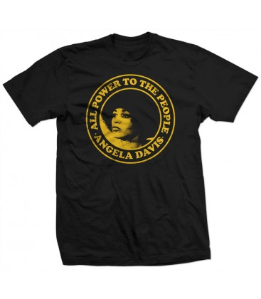 Camiseta Black Angela Davis - WE RESIST