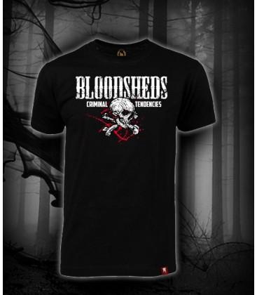Camiseta calavera - Bloodsheds