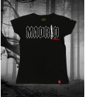 Camiseta Madrid Negra- Bloodsheds