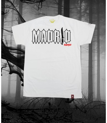 Camiseta Madrid Blanca - Bloodsheds