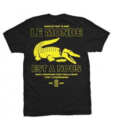 Camiseta Le Monde Est A Nous - WE RESIST