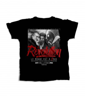Camiseta Chica Revolution Black - WE RESIST