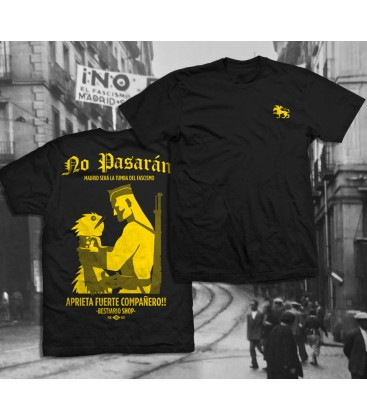 Camiseta No pasarán - WE RESIST