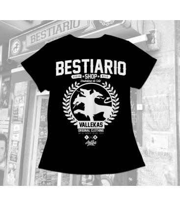 Camiseta Chica Bestiario Shop - WE RESIST