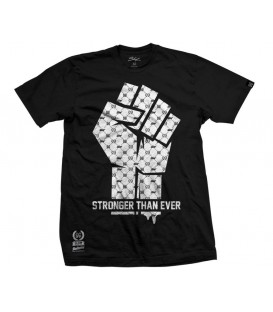 Camiseta Stronger Than Ever Black – SlumWear