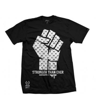Camiseta Stronger Than Ever Black – SlumWear
