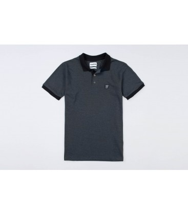 "Polo ""Contrast"" Grey - PgWear"