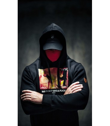 "Mask Hoodie ""We don`t give..."" - PG WEAR"