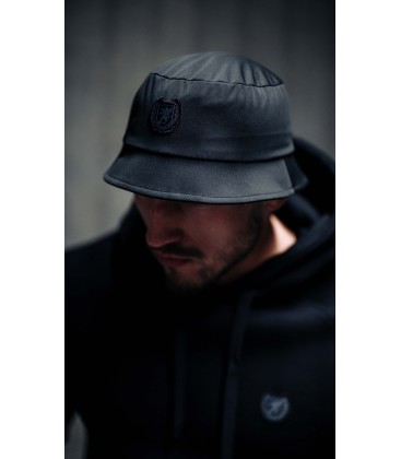 "Bucket Hat ""Sailor"" Black - PgWear"