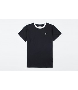 "T-shirt ""PG Ringer"" Black - PgWear"