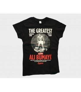 Camiseta Mujer Ali Bumaye - WE RESIST