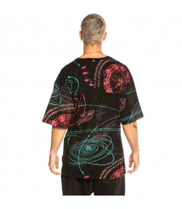 Camiseta Grimey Call of Yore All Over Print FW20 Black - GRIMEY
