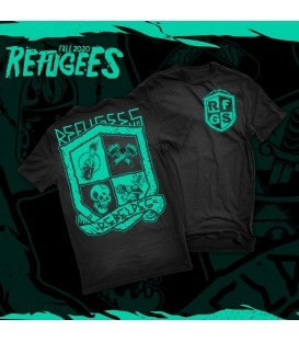 Camiseta rebeldes - REFUGEES CLOTHING
