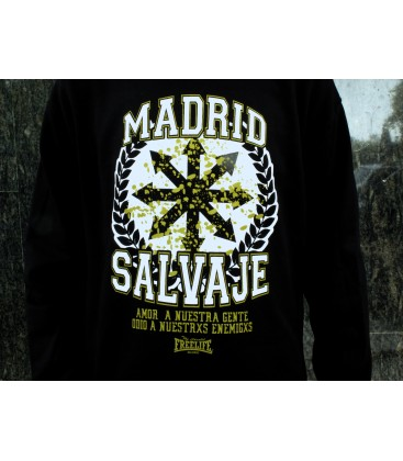 Sudadera Madrid Salvaje - FREELIFE