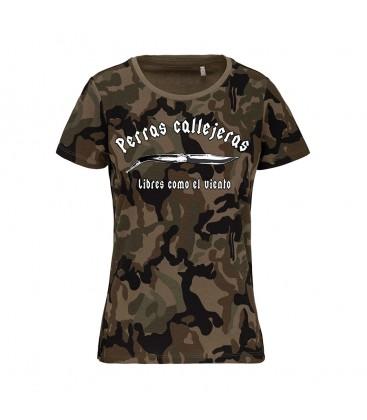 Camiseta Chica perras callejeras Guerrilla - PERROS CALLEJEROS