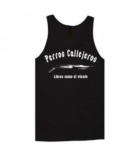 Camiseta Tirantes perros callejeros