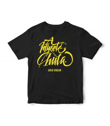 Camiseta A Muerte Chula - SOLO GOZAR
