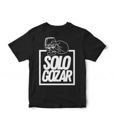 Camiseta Solo Gozar Negra - SOLO GOZAR