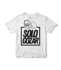 Camiseta Solo Gozar Blanca - SOLO GOZAR