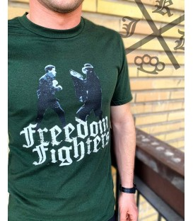CAMISETA FREEDOM FIGHTERS VERDE - KIJADA
